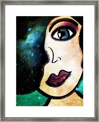 Tala - Goddess Of Stars Framed Print
