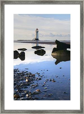 Talacer Abandoned Lighthouse Framed Print