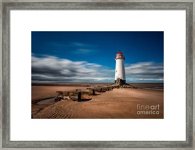 Talacre Beach Framed Print by Adrian Evans