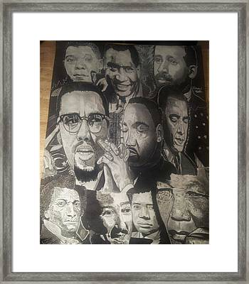 Talented Tenth Framed Print by Demetrius Washington