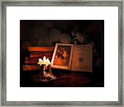 Tales From Shakespeare Framed Print by Theresa Tahara