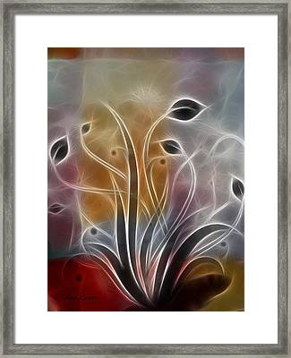 Tales Of Light I Framed Print by Ann Croon