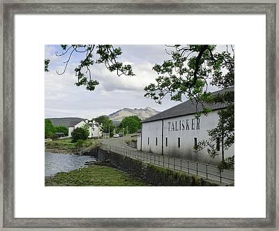 Talisker Distillery Framed Print
