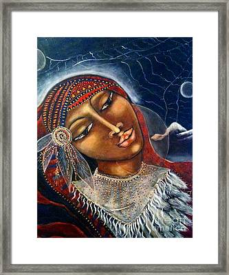 Taliswoman Framed Print by Maya Telford
