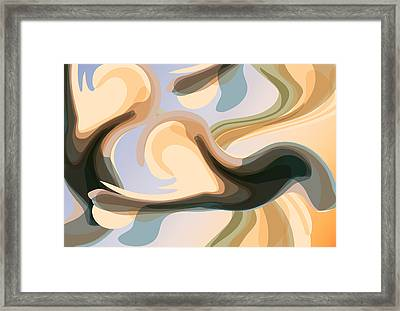 Talk To Me 1 Framed Print by Angelina Vick