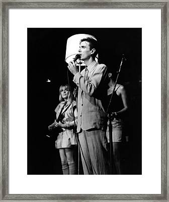 Talking Heads 1983 Framed Print by Chris Walter