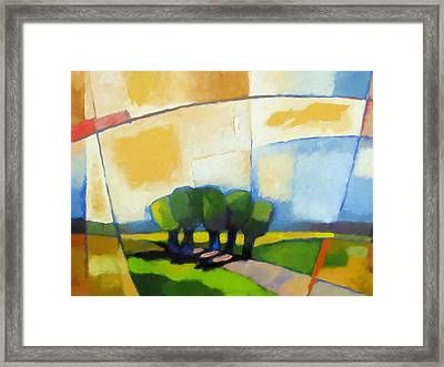 Talking Trees Framed Print by Lutz Baar