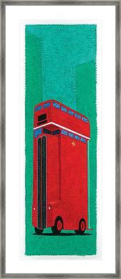 Tall Bus Framed Print