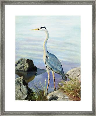Tall Fellow Framed Print