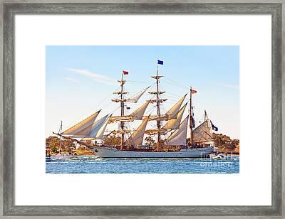 Tall Ship Framed Print by Bill  Robinson