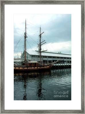 Tall Ship Framed Print