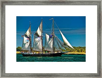 Tall Ship Framed Print by Steve Harrington
