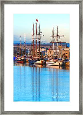 Tall Ships Framed Print by Bill  Robinson
