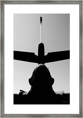 Tall Tail - B-1b/7 Wishes Framed Print