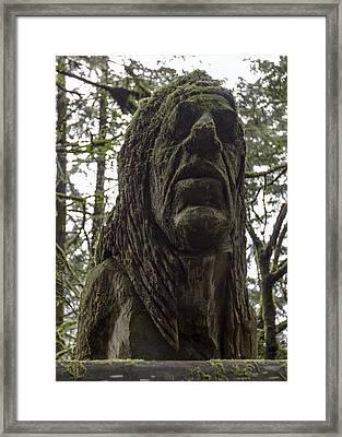Tall Tales Bust Framed Print