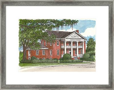 Tallahassee Chamber Of Commerce Framed Print