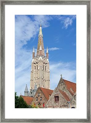 Tallest Brick Building Framed Print