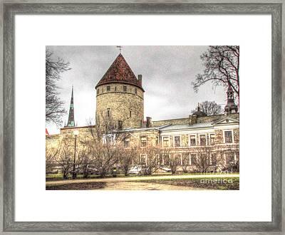 Tallin  Autum Framed Print