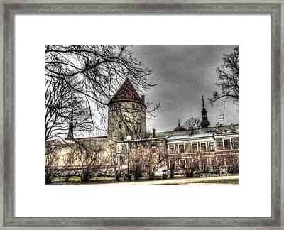 Tallin Old  Autum Framed Print