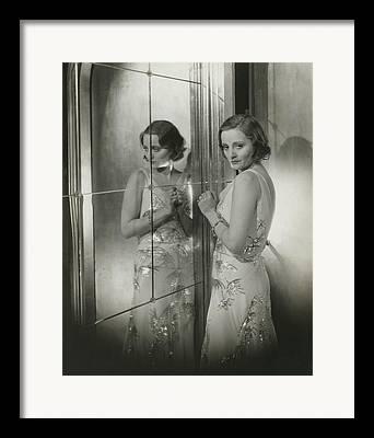 Sequined Dress Framed Prints