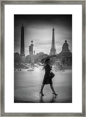 Talon Aiguille ! Framed Print