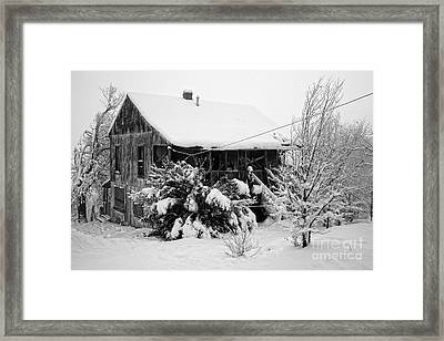 Tamale Ladies House Jerome Az Framed Print
