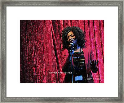 Framed Print featuring the photograph Tamara Stephens by Tonia Noelle