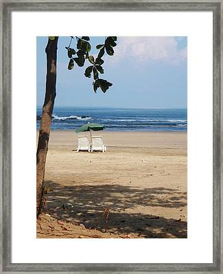 Tamarindo Is Waiting Framed Print by Jim DeLillo