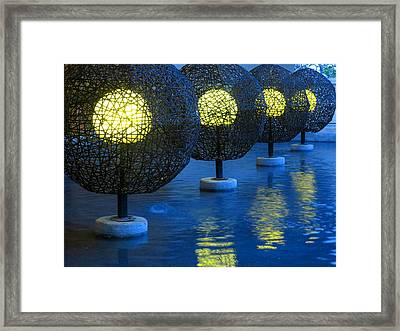 Tamarindo Reflections Framed Print