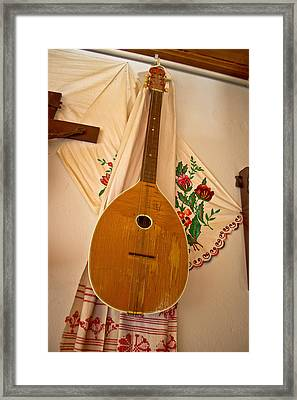 Tamburica Croatian Traditional Music Instrument Framed Print