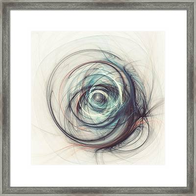 Tamed Power Framed Print by Martin Capek