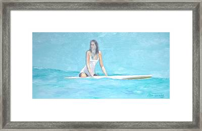 Tammi Framed Print by Stan Tenney