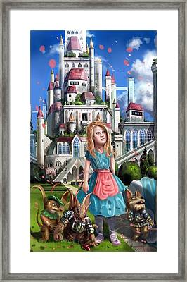 Tammy In Capira Framed Print