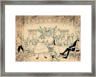 Tammy In Indpendence Hall Framed Print