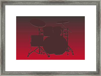 Tampa Bay Buccaneers Drum Set Framed Print by Joe Hamilton