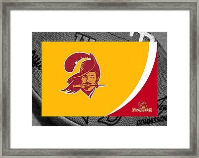 Tampa Bay Buccaneers Framed Print by Joe Hamilton