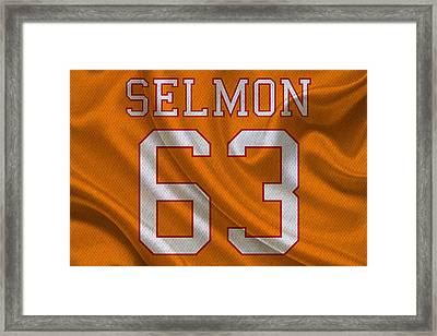 Tampa Bay Buccaneers Leroy Selmon Framed Print by Joe Hamilton