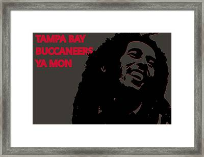 Tampa Bay Buccaneers Ya Mon Framed Print by Joe Hamilton