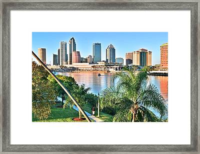 Tampa Bay Florida Framed Print by Frozen in Time Fine Art Photography