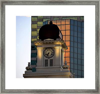 Tampa City Hall 1915 Framed Print by David Lee Thompson