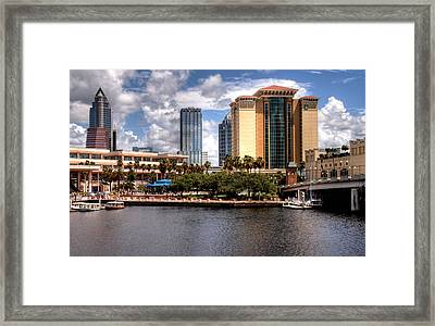 Framed Print featuring the photograph Tampa by Jim Hill