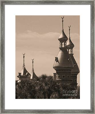 Tampa Minarets  Framed Print by Carol Groenen