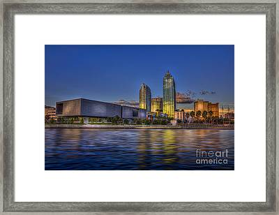 Tampa Museum Framed Print by Marvin Spates