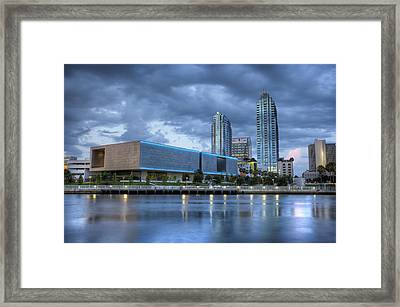 Tampa Museum Of Art Framed Print by Al Hurley