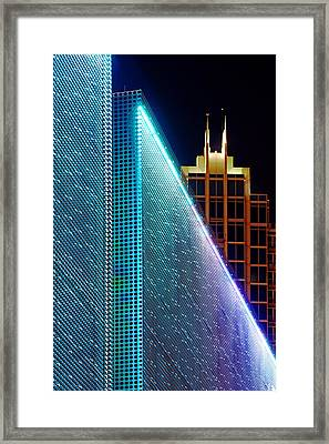 Framed Print featuring the photograph Tampa Museum Of Art At Night by Daniel Woodrum