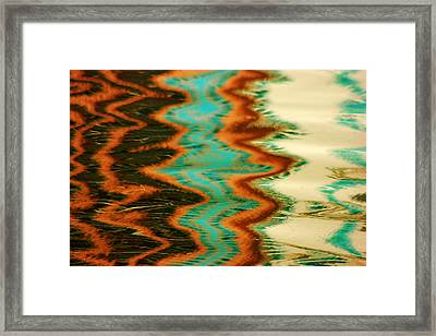 Framed Print featuring the photograph Tampa Reflection Abstract I by Daniel Woodrum