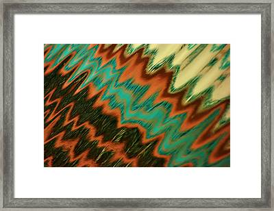 Framed Print featuring the photograph Tampa Reflection Abstract II by Daniel Woodrum