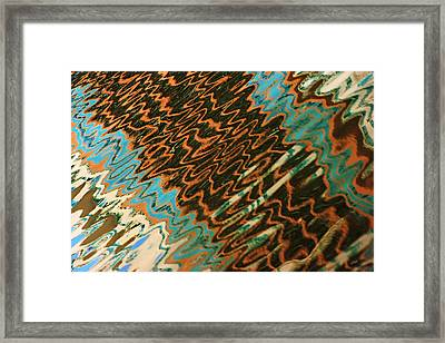 Framed Print featuring the photograph Tampa Reflection Abstract Iv by Daniel Woodrum