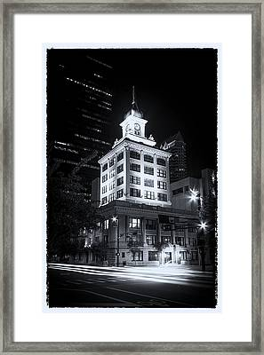 Tampa's Old City Hall Framed Print