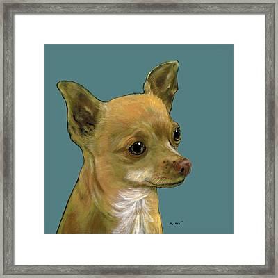 Tan Chihuahua Framed Print